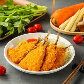 超酥嫩黃金裹粉竹筴魚五入(300克±10%/包)